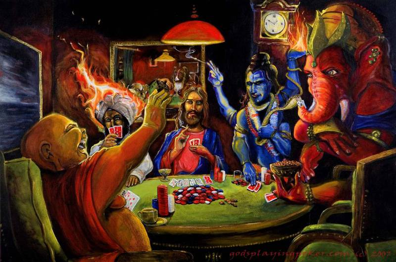 gods-playing-poker